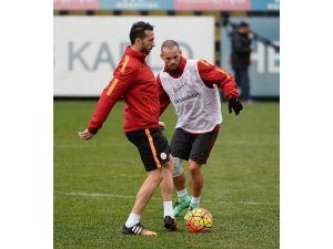 Galatasaray, Torku Konyaspor Maçı Hazırlıklarını Sürdürdü
