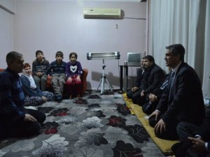 HDP'lilerin ev ziyaretinde dikkat çeken detay