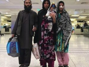 Kocasının Burnunu Kestiği Afgan Kadın Türkiye'de