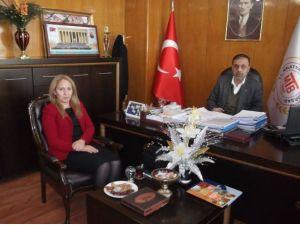 Gümrük Müdiresi Havva Eksilmez'den Malatya Ticaret Borsasına Ziyaret
