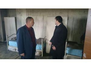 Kaymakam Citer Yanan Kuran-ı Kerim Kursu Binasında İnceleme Yaptı