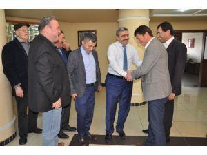 Ör-koop Heyeti Başkan Alıcık'ı Ziyaret Etti