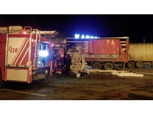 Servis Elemanının Dikkati Yangını Önledi