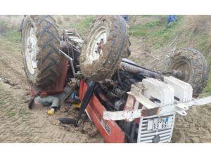 Silivri'de Traktör Devrildi: 1 Ölü