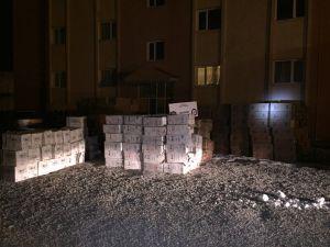 Ağrı'da 350 bin paket kaçak sigara ele geçirildi