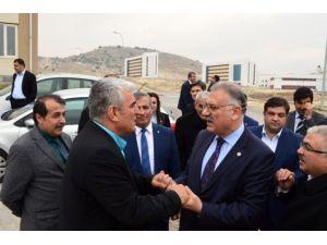 AK Parti Gaziantep Milletvekili Yüksel'den Nizip Eğitim Fakültesi'ne Ziyaret