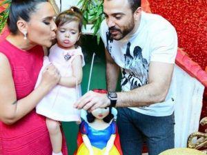 Demet Akalın'dan Kızı Hira'ya Doğum Günü Partisi