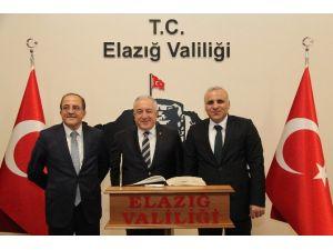 Milli Savunma Bakan Yardımcısı Alpay Elazığ'da