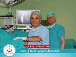 Kırşehir'de Laparoskopik Yöntemle Böbrek Ameliyatı Yapılmaya Başlanıldı