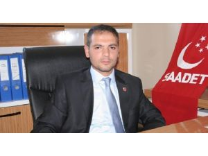Saadet Partisi'nden Bölge İdare Mahkemesi'nin Taşınmasına Tepki