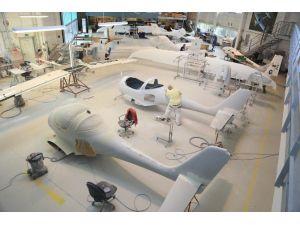 Bursa'da Uçak Üretimi Başlıyor...