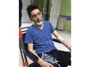 Aksaray'da Çatıdan Düşen Genç Yaralandı