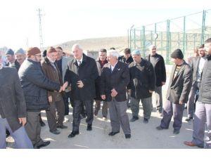 İncesu Belediye Başkanı Zekeriya Karayol Şeyhşaban Mahallesi Sosyal Tesisinin Açılışını Yaptı