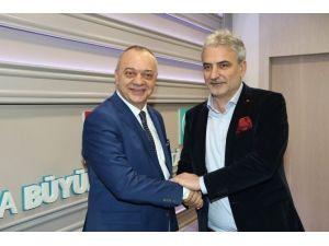 Başkan Ergün Manisaspor'u Konuk Etti