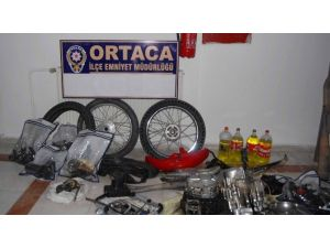 Ortaca'da Motosiklet Hırsızlığına 4 Tutuklama