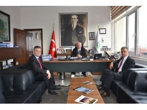 CHP Kırklareli Milletvekili Turabi Kayan'dan Başkan Albayrak'a Ziyaret