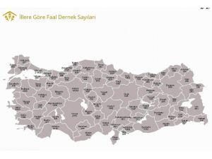 Samsun, Karadeniz'de En Çok Dernek Bulunan İl