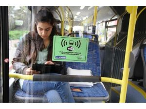 Belediye Otobüslerinde İnternet Keyfi