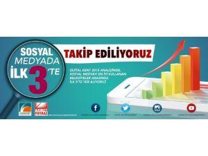 Çekmeköy Belediyesi Sosyal Medya Kullanımında İlk 3'te