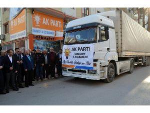 AK Parti'den Güneydoğu'daki Terör Mağdurlarına Yardım