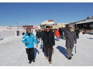 Erciyes, İstanbul'daki tur operatörlerini ağırladı