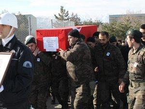 Şehit polis memuru Uğur Kutlu son yolculuğuna uğurlandı