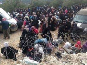 Suriye Sınırına Akın Var! Binlerce Mülteci Kapıya Dayandı