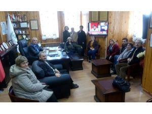 CHP'li Kadınlar'dan Başkan Taş'a Ziyaret