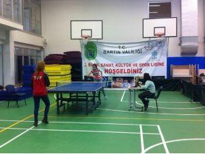 Masa Tenisi Turnuvası Yapıldı