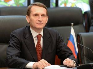 Duma Başkanı Narışkin: Türkiye-Rusya ilişkilerinde bir çıkış yolu vardır