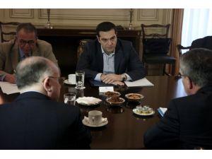 Çipras, Alman ve Fransız İçişleri bakanları ile 'mülteci' konusunu görüştü