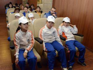 Sarıkeçili konargöçer çocuklar yarı yıl tatilinde ilkleri yaşadı