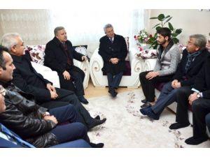Vali Kahraman, Kahraman Gazi Uzman Çavuş Yunus Emre Şimşek'i Ziyaret Etti