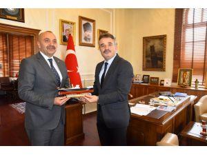 Samsun Büyükşehir Belediyesi'ne ziyaret