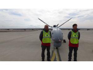 Yerli insansız hava aracı ANKA, ilk görevine Elazığ'da başladı