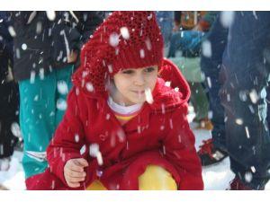 Mersin'de Kar Festivali Başladı