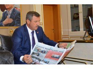 Tavşanlı Belediye Gazetesi Yeni Sayısı Hazırlandı