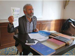 Mektupları Abdullah Öcalan'a ulaştırılmayan Yrd. Doç'tan tepki