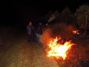 Dörtyol'da Yangın