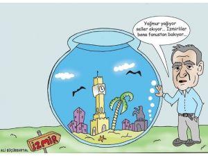 İzmir'in Su Baskını Sorununa 'Fanuslu' Çözüm