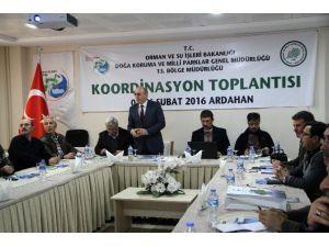 Orman Ve Su İşleri 13. Bölge Müdürlüğü Koordinasyon Toplantısı Ardahan'da Yapıldı