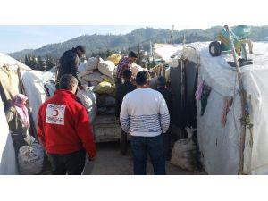 Seydişehir'den Yardım İçin Yola Çıkan 2 Tır Türkmenler'e Ulaştırıldı