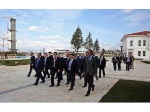 Antalya'da İlçe Milli Eğitim Müdürleri EXPO 2016'yı Gezdi