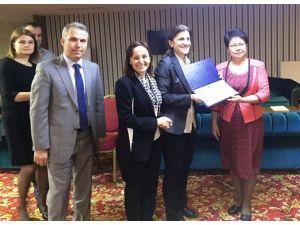 Kırgızlar Samsun'da belediyeciliği öğreniyor