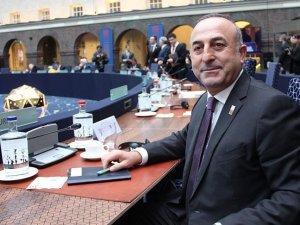 Çavuşoğlu AB Dışişleri Bakanları Gayriresmi Toplantısına katıldı