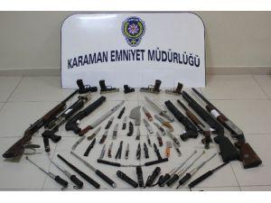 Karaman'da Polisin Asayiş Uygulamaları