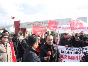 Umut nöbetini CHP Başakşehir İlçe Teşkilatı tuttu