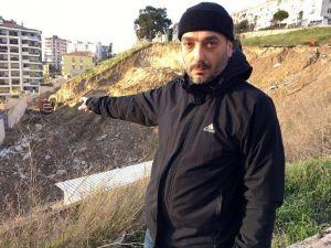 İzmir'de Çöken Okul Yolu İçin Harekete Geçildi