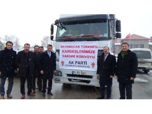 AK Parti Erzurum İl Teşkilatından Bayırbucak Türkmenlerine Yardım