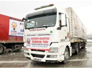 Bayır-bucak'taki Türkmenlere Yardım Kampanyasına Keçiören Belediyesinden Destek